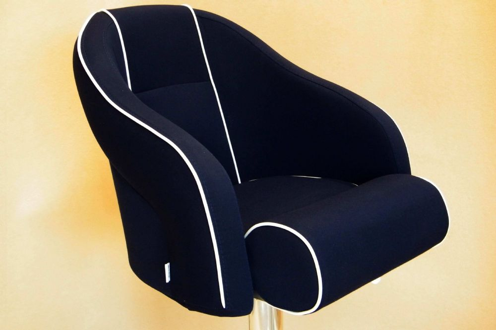 PF4551 no Head Rest (Navy) Textile